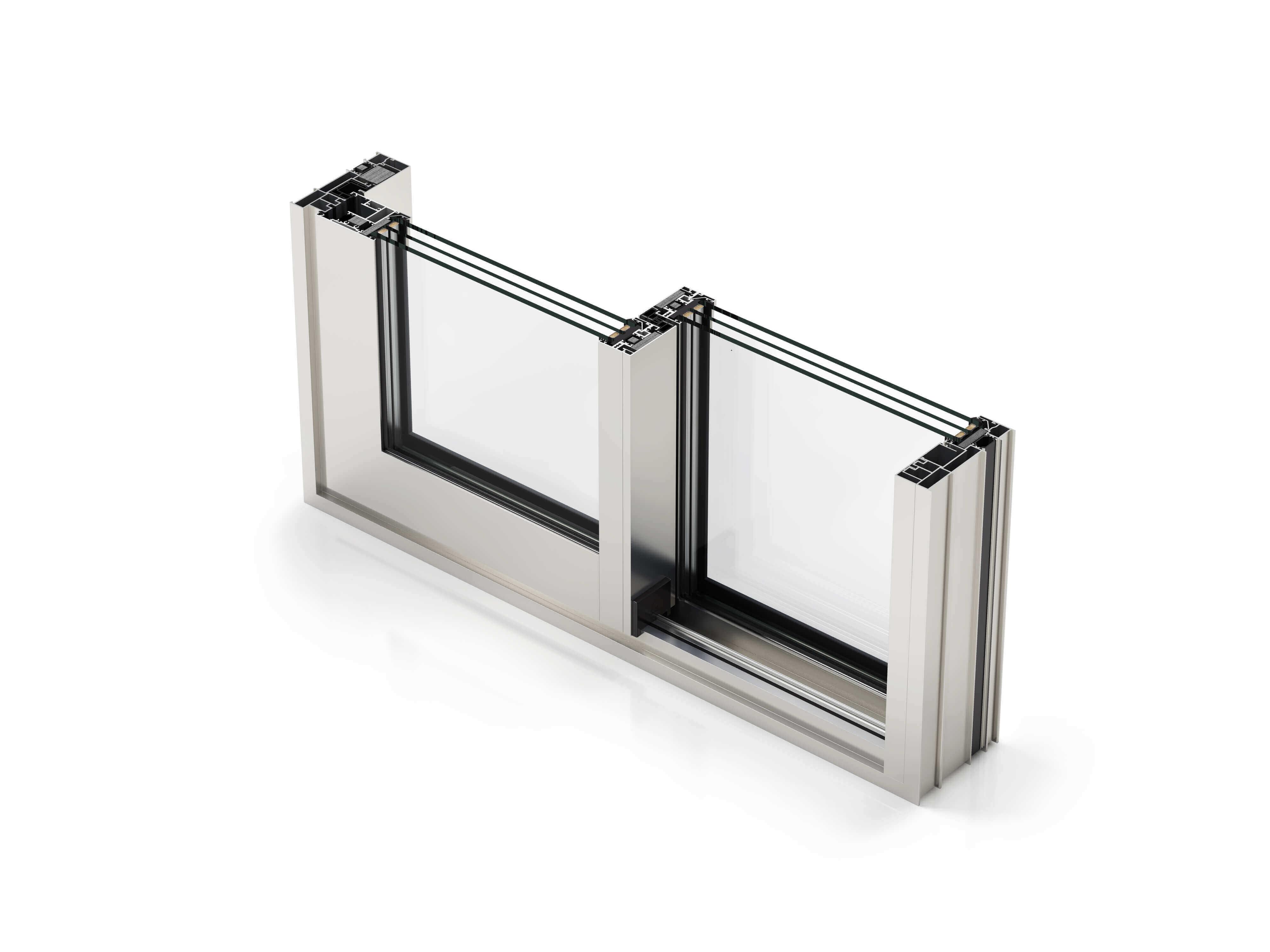 Termoplast - sectiune sistem aluminiu COR 4600