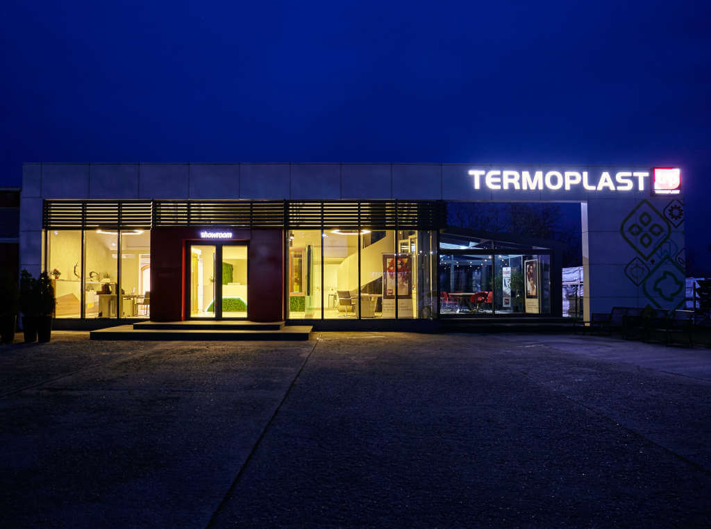 Termoplast Showroom Roman