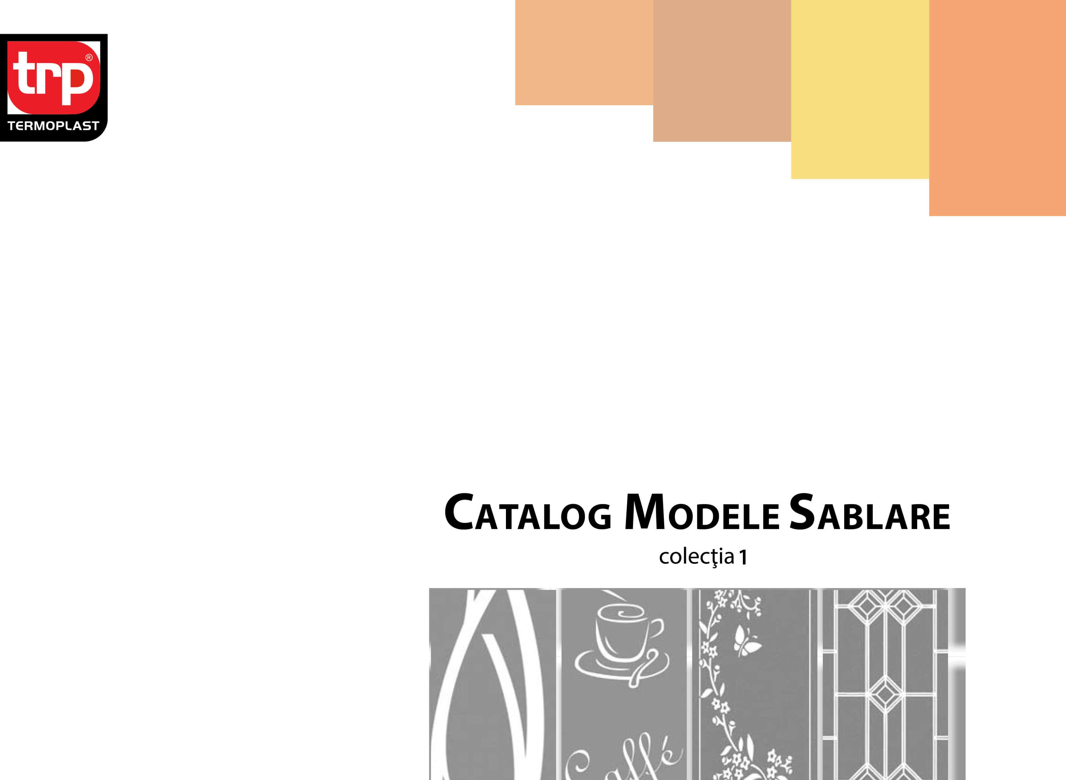 catalog sablare colectia 1