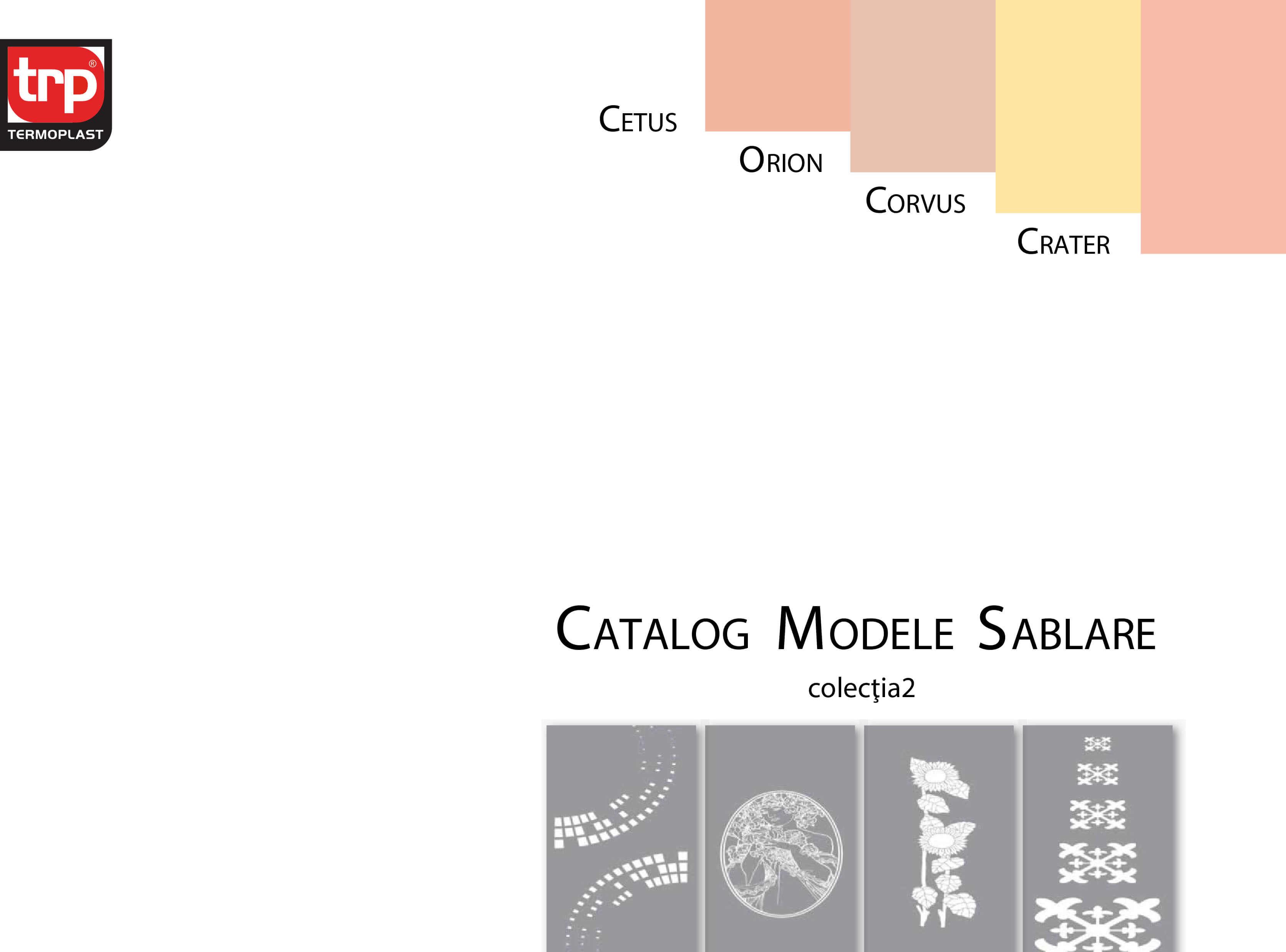 Catalog sablare colectia 2