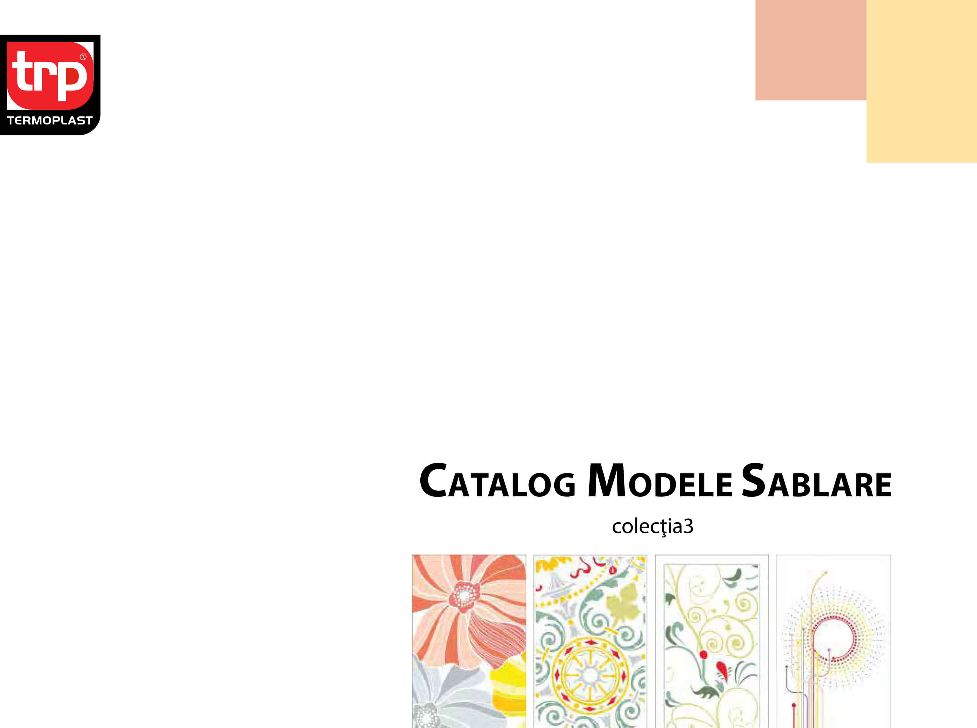 Catalog sablare colectia 3