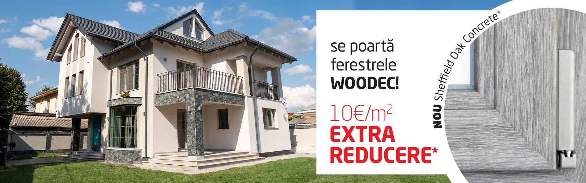 Termoplast reducere ferestre Woodec