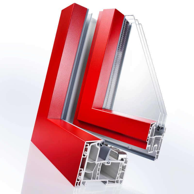 Termoplast - Rivestimento esterno con profili in alluminio
