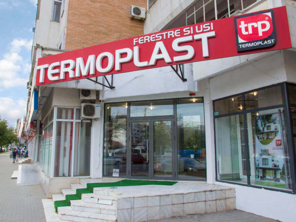 Termoplast Showroom Iasi
