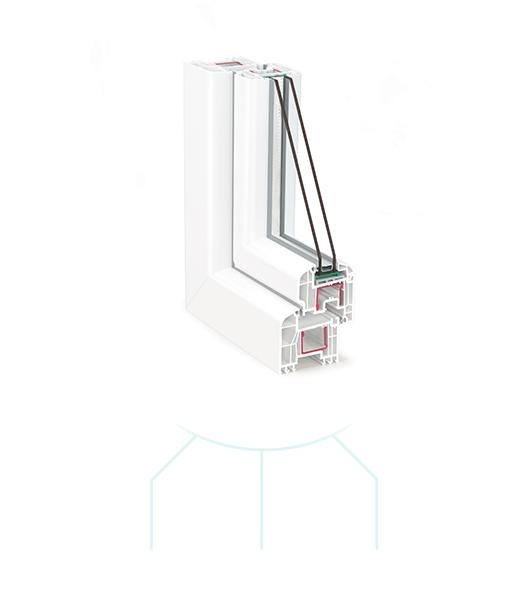 Termoplast - Tamplarie PVC TRP 60