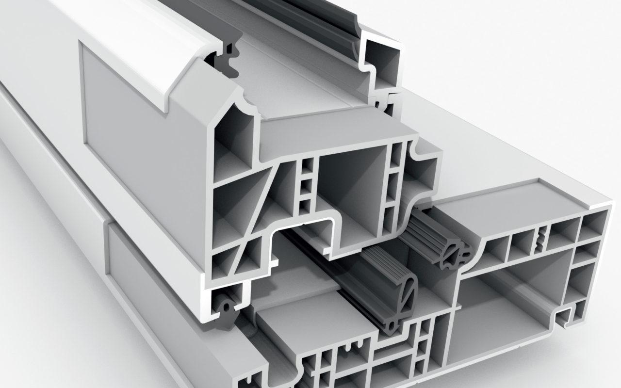 rau fipro material superior pvc ferestre